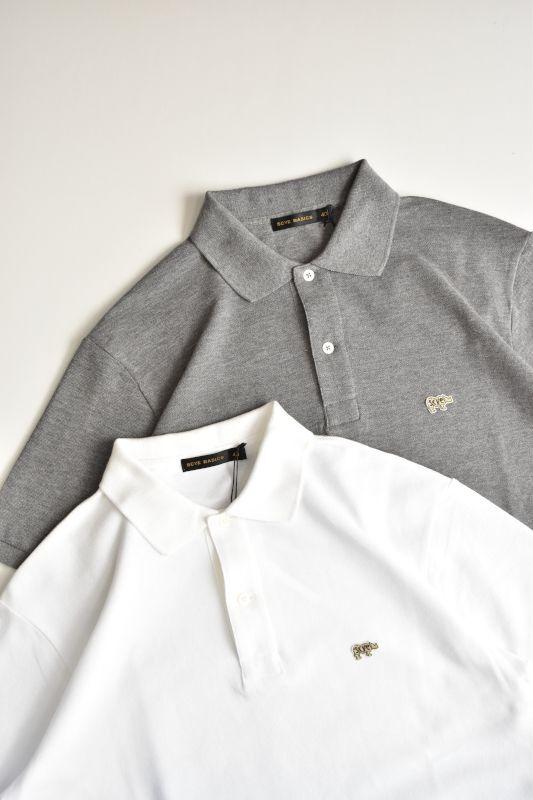 画像1: SCYE BASICS (サイベーシックス) Cotton Pique Polo Shirt [2-colors] (1)