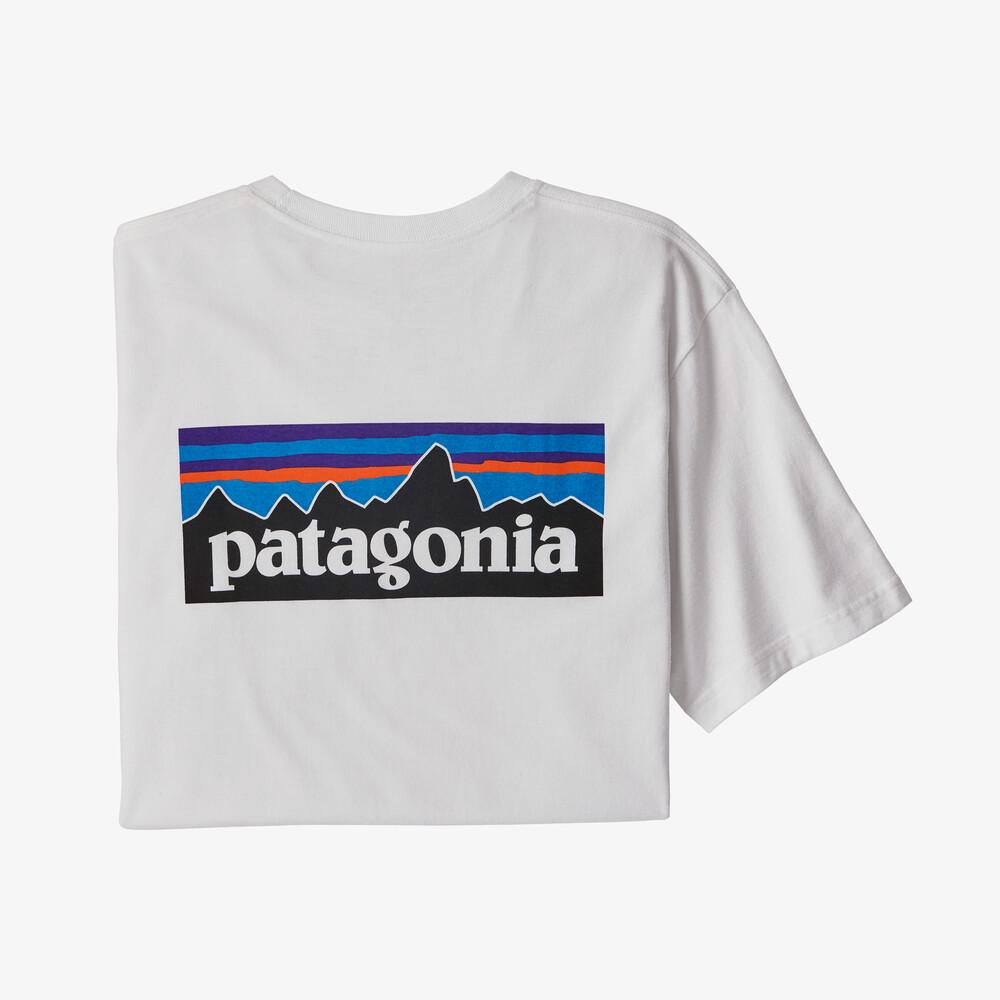 画像1: patagonia (パタゴニア) メンズ・P-6ロゴ・ポケット・レスポンシビリティー [WHI] (1)