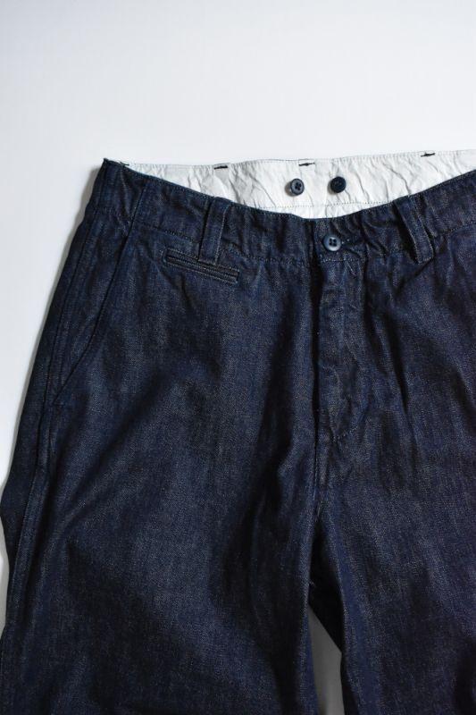 画像1: MASTER & Co. (マスターアンドコー) 10oz DENIM PANTS with BELT [INDIGO] (1)