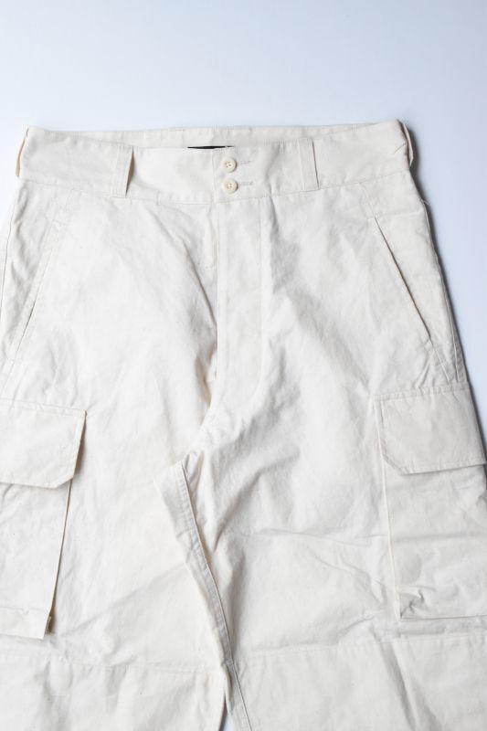 画像1: *A VONTADE (アボンタージ) 40's French Army Trousers [NATURAL] (1)