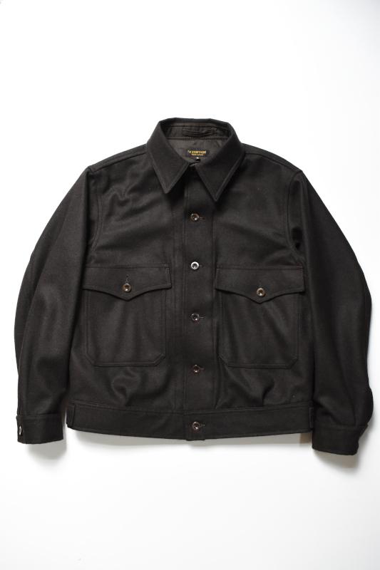 画像1: *A VONTADE (アボンタージ) Melton Short Jacket [DK.BROWN] (1)