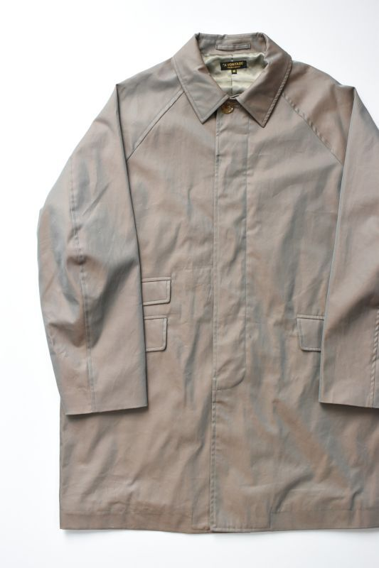 画像1: *A VONTADE (アボンタージ) Lax Balmacaan Coat II [IRIDESCENT OLIVE] (1)