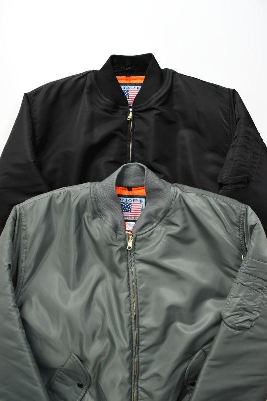 画像1: Snap'N'Wear(スナップンウェア) MA-1 Flight Jacket [2-colors] (1)