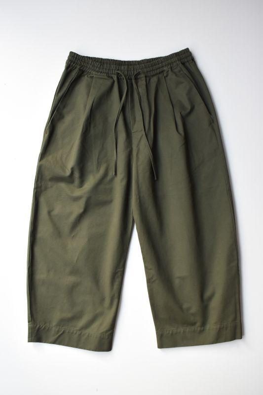 画像1: GREI. (グレイ) OVATE BAGGY PANTS [ARMY GREEN] (1)