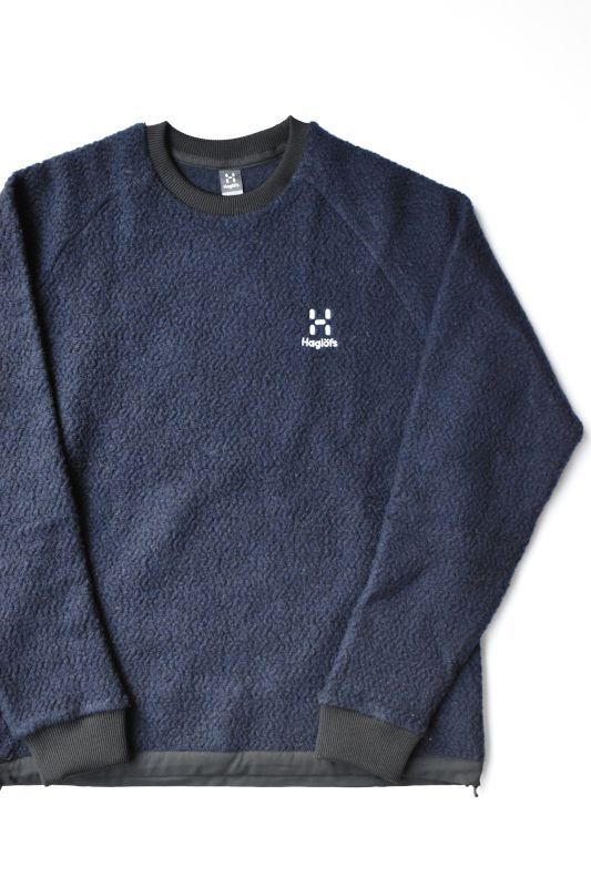 画像1: HAGLOFS(ホグロフス) Recycle Wool PO [NAVY] (1)