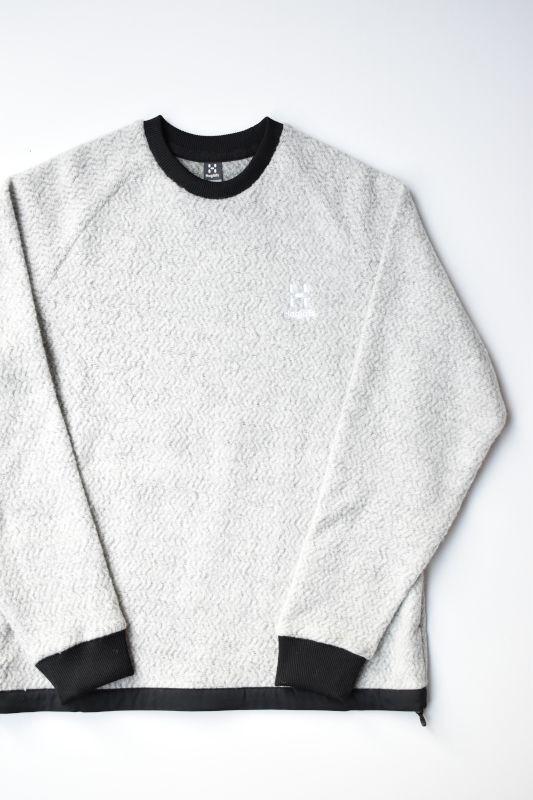 画像1: HAGLOFS(ホグロフス) Recycle Wool PO [GREY] (1)
